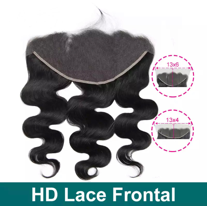 Body Wave - Indv. HD Lace Frontal - Alcoholic Hair