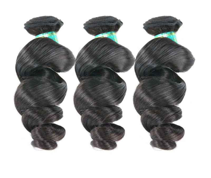 Loose Wave - 3 Piece Bundles - Alcoholic Hair