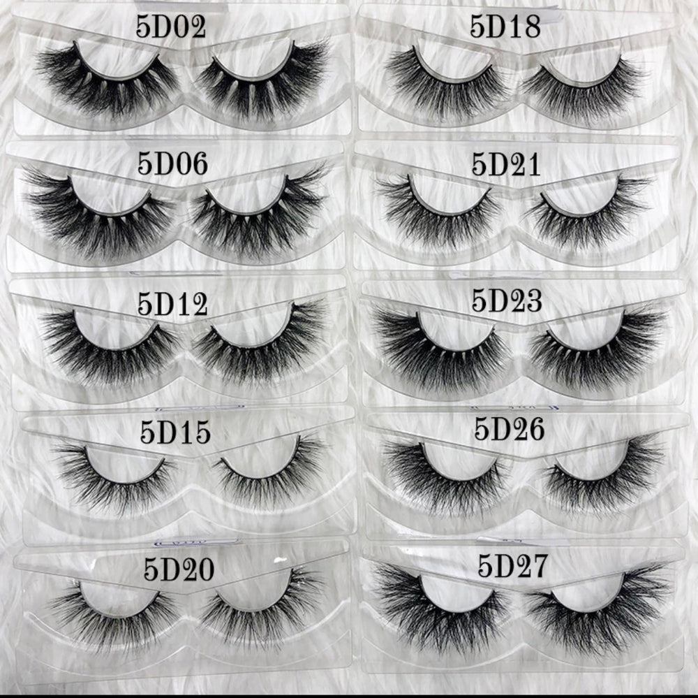 3D Mink Lashes - Rectangle Case - Alcoholic Hair