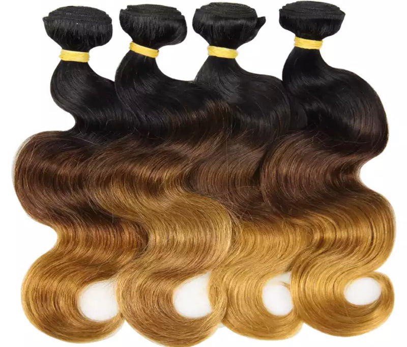 Body Wave- 4  Piece Bundles - Alcoholic Hair