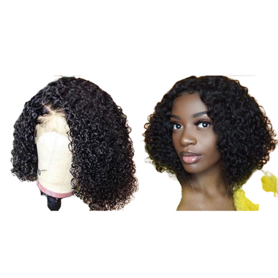 Kinky Curly - Lace Closure Wig - Alcoholic Hair