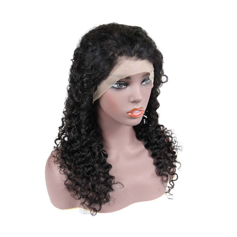 Kinky Curly - Lace Frontal Wig - Alcoholic Hair