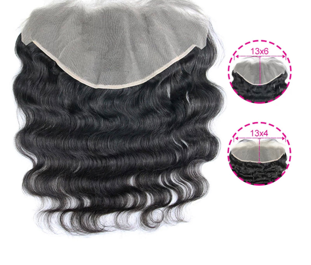 Body Wave - Indv. Lace Frontal - Alcoholic Hair