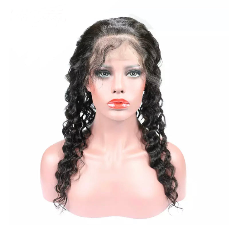 Deep Wave - 360 Lace Frontal Wig - Alcoholic Hair
