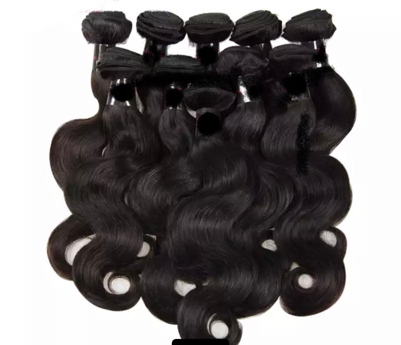 Body Wave -10 Piece Wholesale Bundles - Alcoholic Hair
