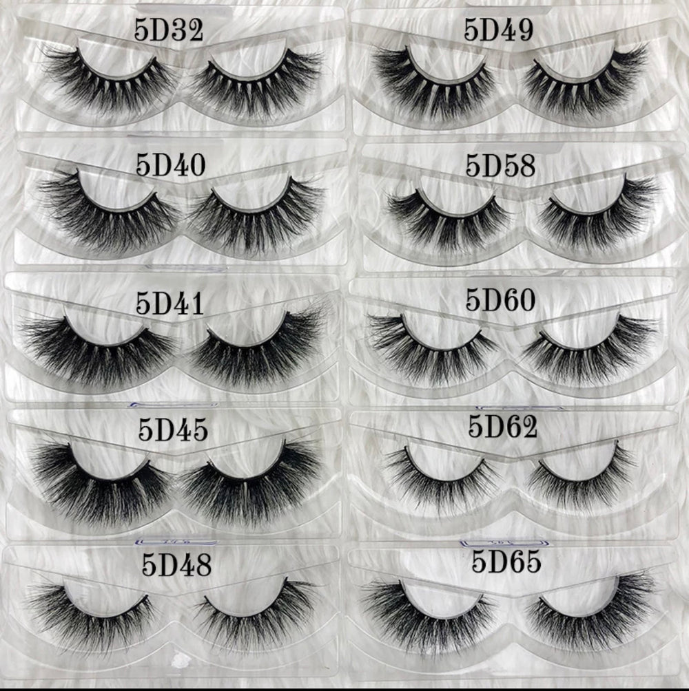 3D Mink Lashes - Free Case - Alcoholic Hair