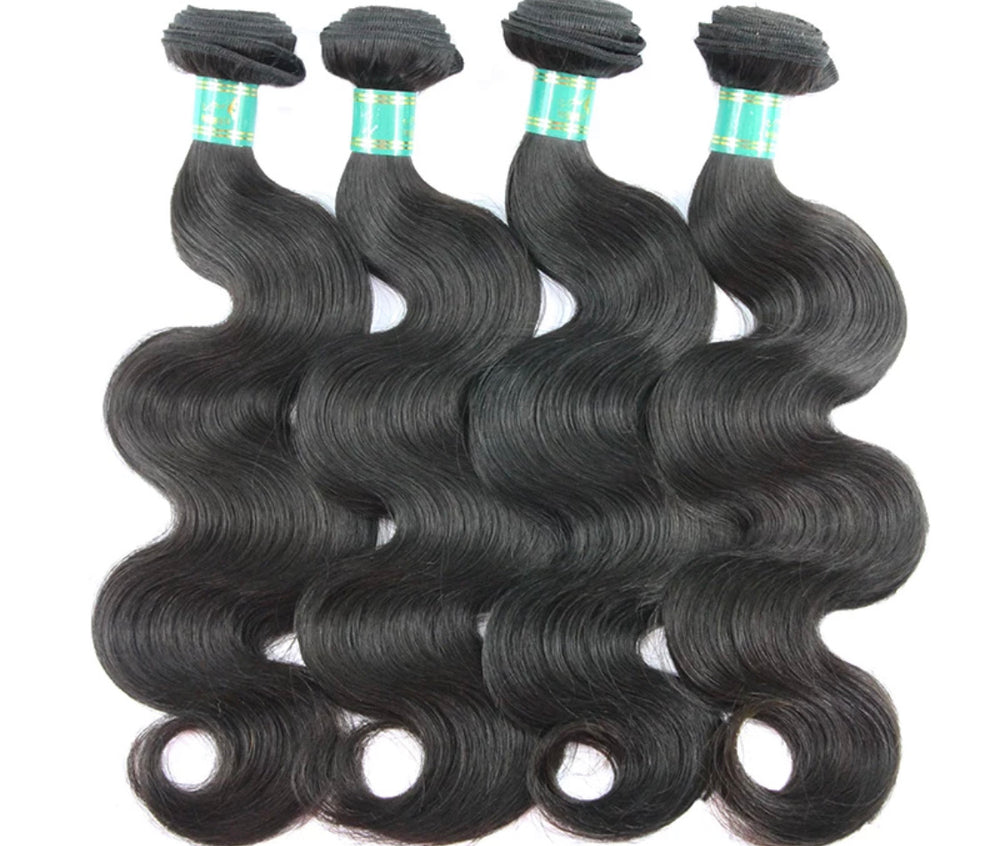 Body Wave - 4 Piece Bundles - Alcoholic Hair