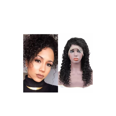 Deep Wave - Lace Frontal Wig - Alcoholic Hair
