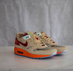 "CLOT x Nike Air Max 1 - ""Kiss of Death"""