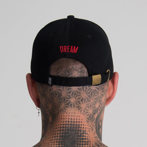 DREAM CHERUB CAP (BLACK) - DREAMWEAR