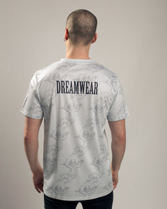 DREAM CHERUB ALL OVER (GREY) - DREAMWEAR