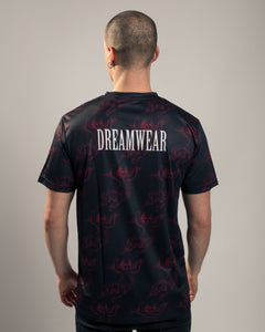 DREAM CHERUB ALL OVER (BLACK) - DREAMWEAR