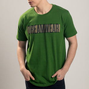 DREAMWEAR STRIPE LOGO (GREEN) - DREAMWEAR