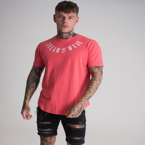 DREAMWEAR CHERUB TATTOO T-SHIRT (PINK) - DREAMWEAR