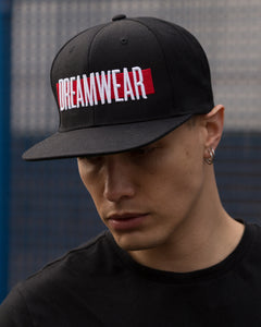 DREAMWEAR SNAPBACK (BLACK) - DREAMWEAR