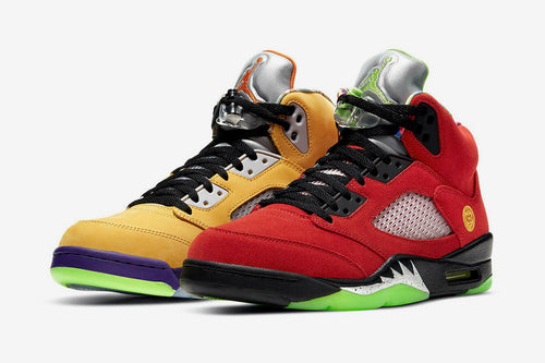 AIR JORDAN 5 'WHAT THE'