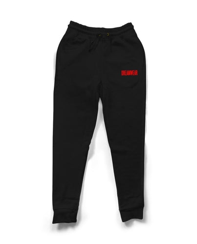 DREAMWEAR RED LOGO ESSENTIAL (BLACK)