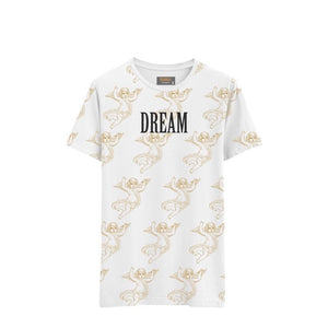 DREAM CHERUB ALL OVER (WHITE)