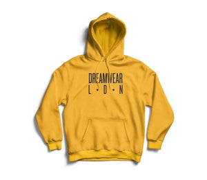 DREAMWEAR LDN HOODED TOP  (YELLOW)
