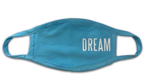 DREAM GLOW IN THE DARK FACE MASK (BLUE)