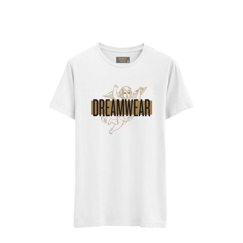 DREAMWEAR LOGO STRIPE (WHITE)