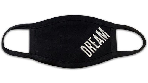 DREAM GLOW IN THE DARK FACE MASK (BLACK)