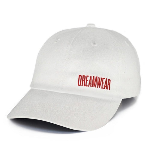 DREAMWEAR DAD HAT (WHITE)