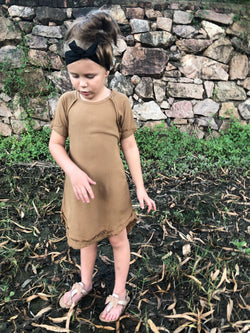 Chestnut Mini Me Dress