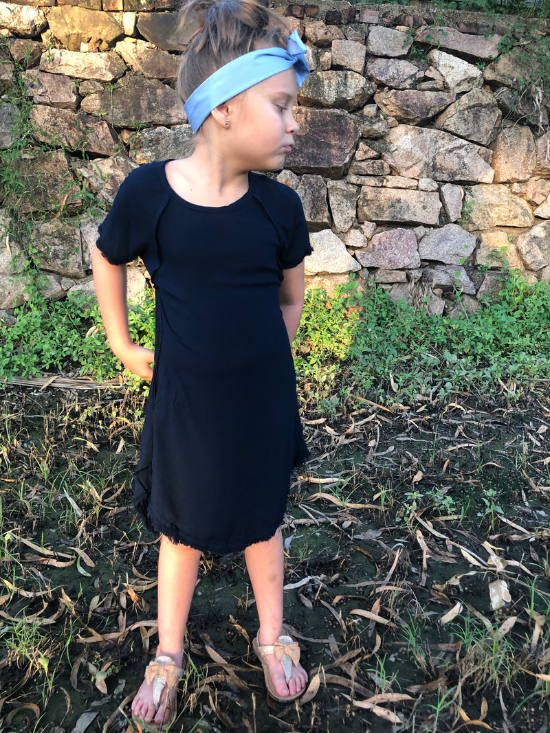 Navy Mini Me Dress