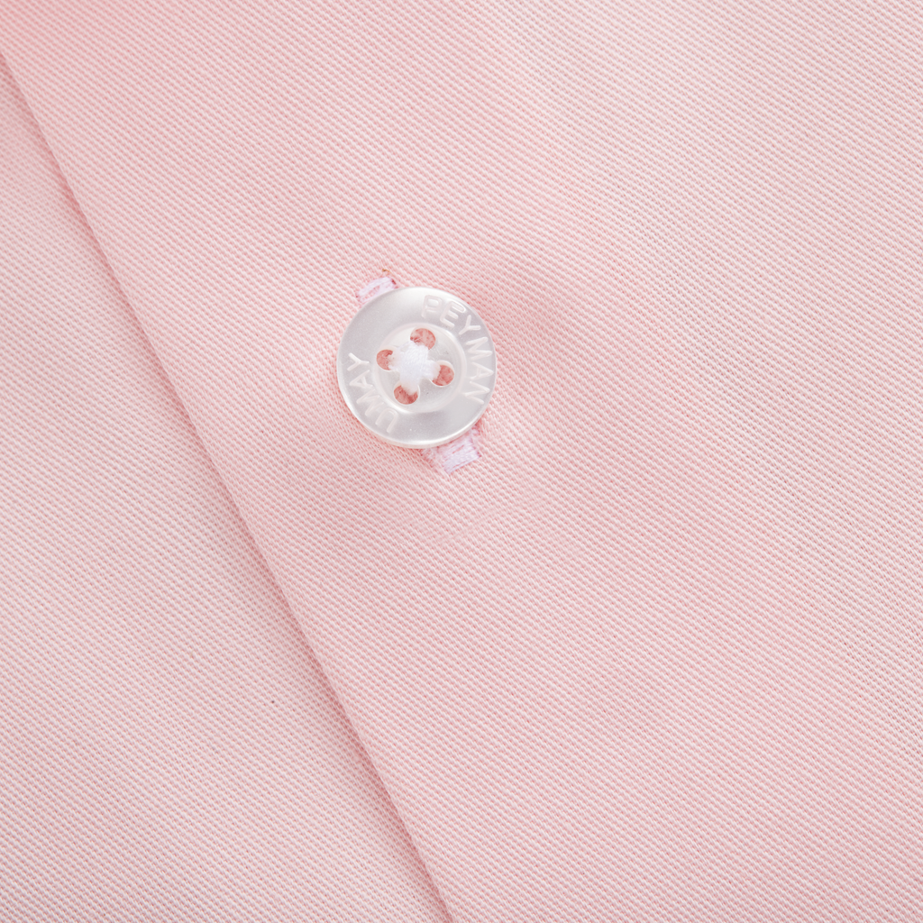 Medium Pink Twill Shirt