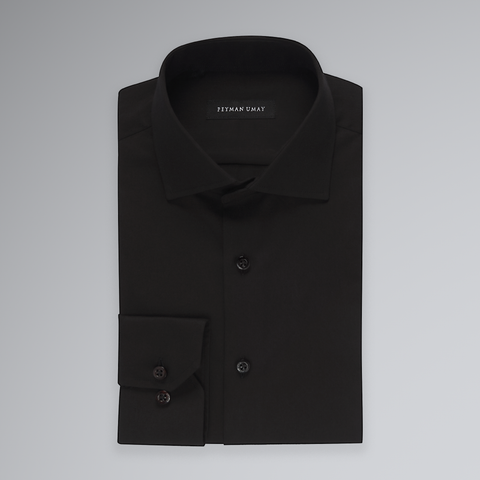 Black Solid Shirt