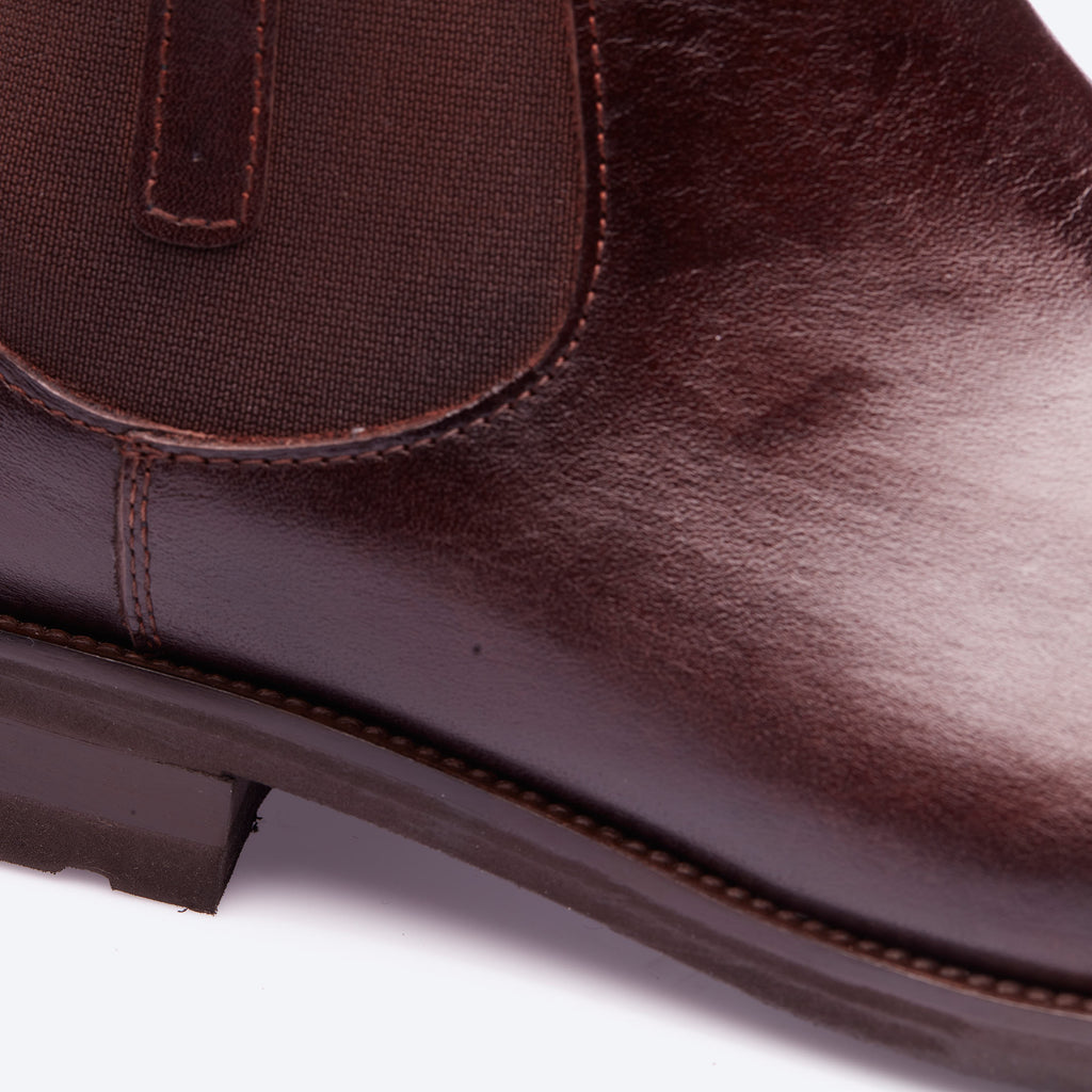 Brown Classic Chelsea Boots