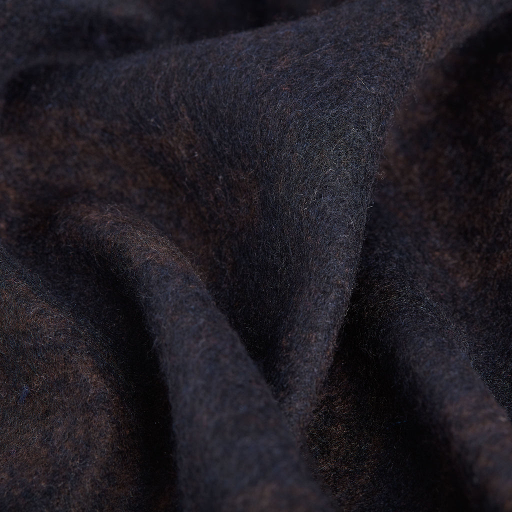 Dark Brown Navy Scarf