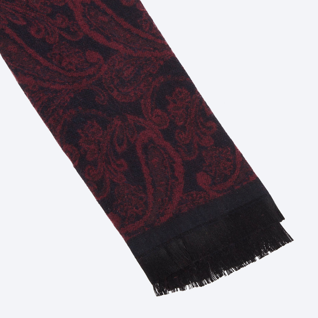 Claret Red Scarf