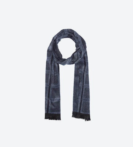 Blue Grey Scarf