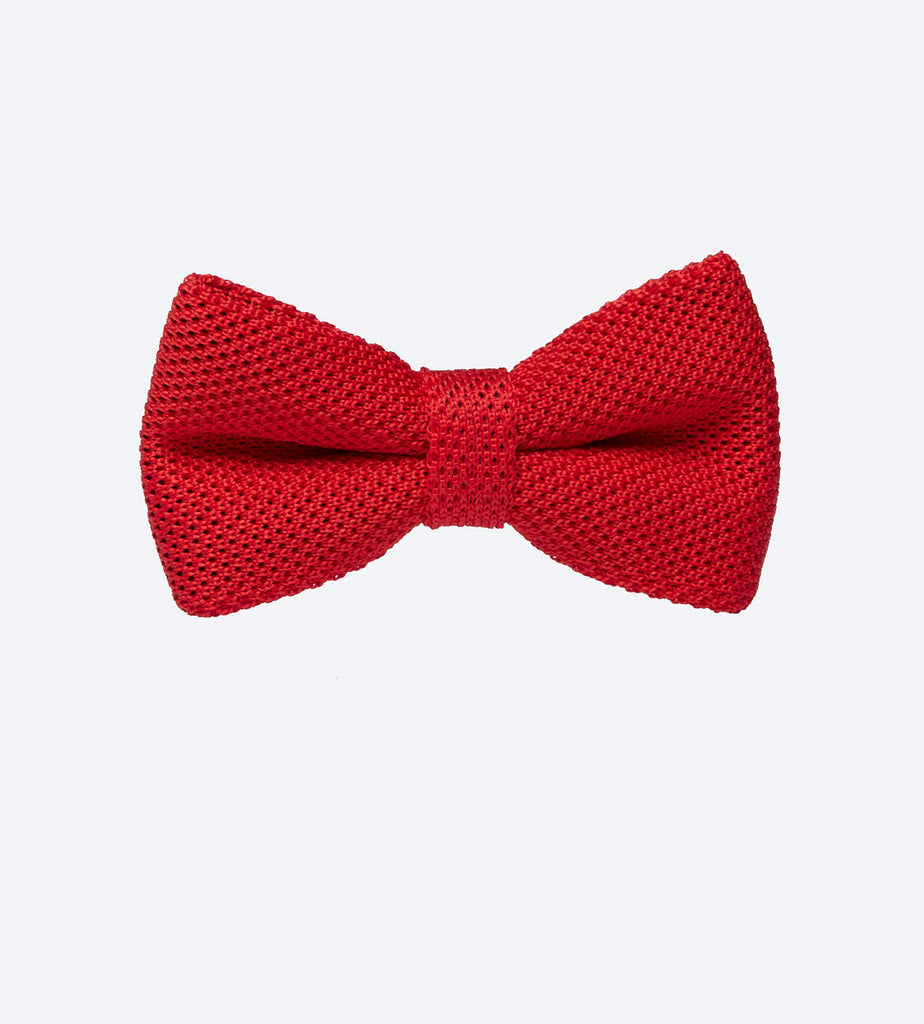 Red Pinhead Bow Tie