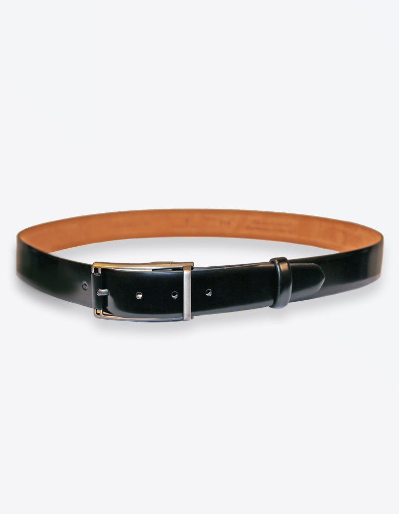 Black Solid Belt