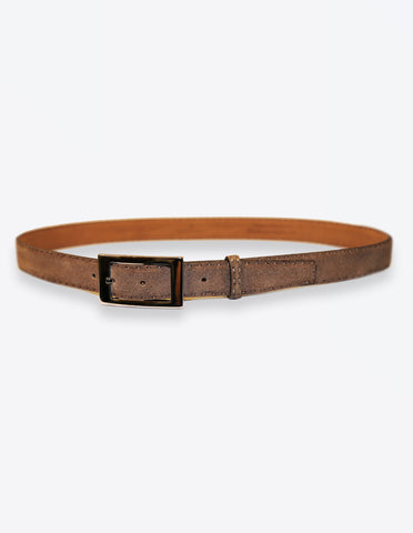 Light Brown Suede Belt