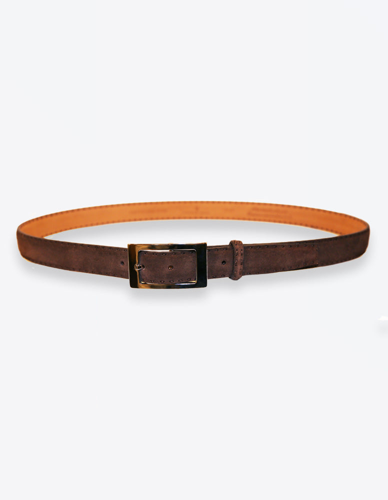 Chocolate Suede Belt