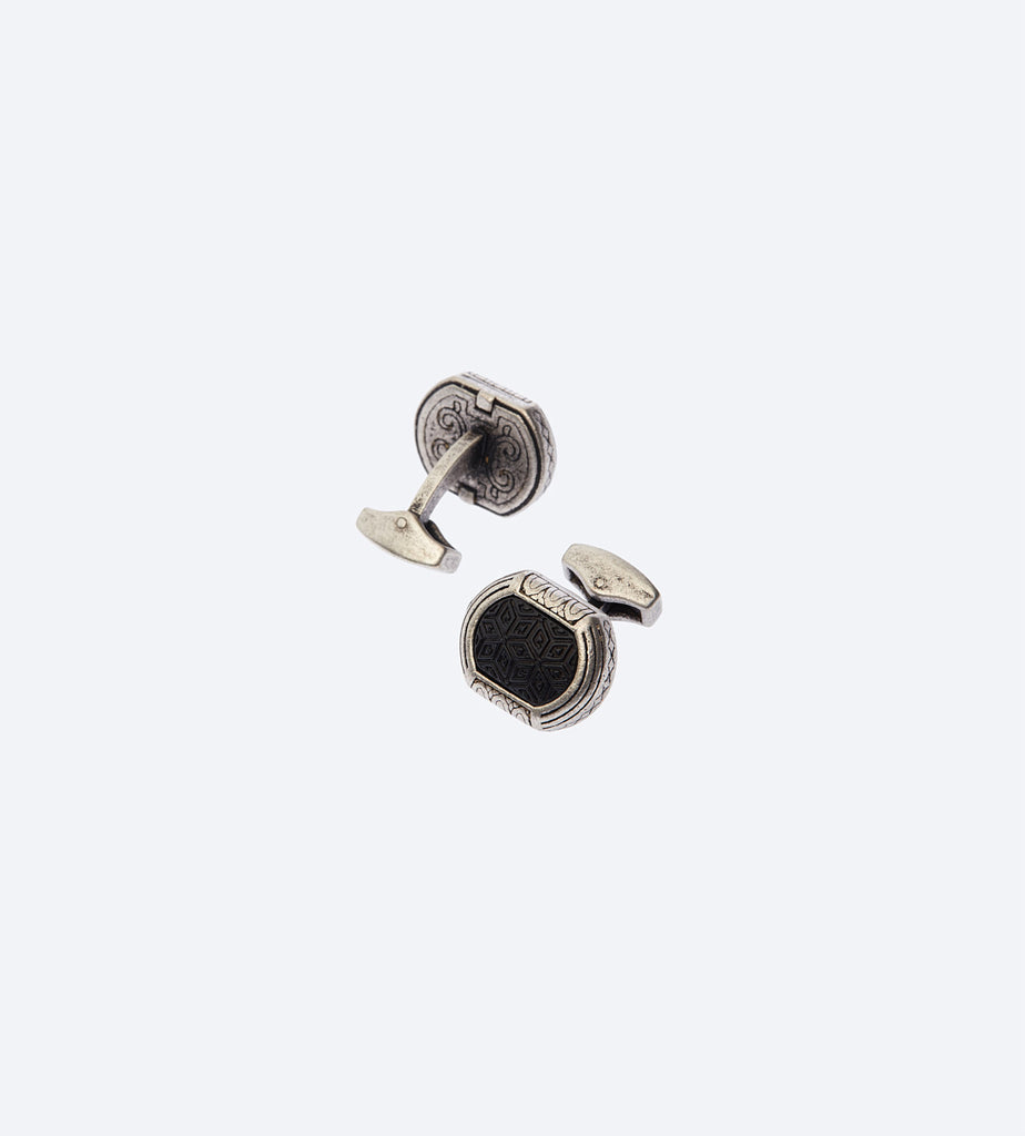 Black Tribal Cufflink