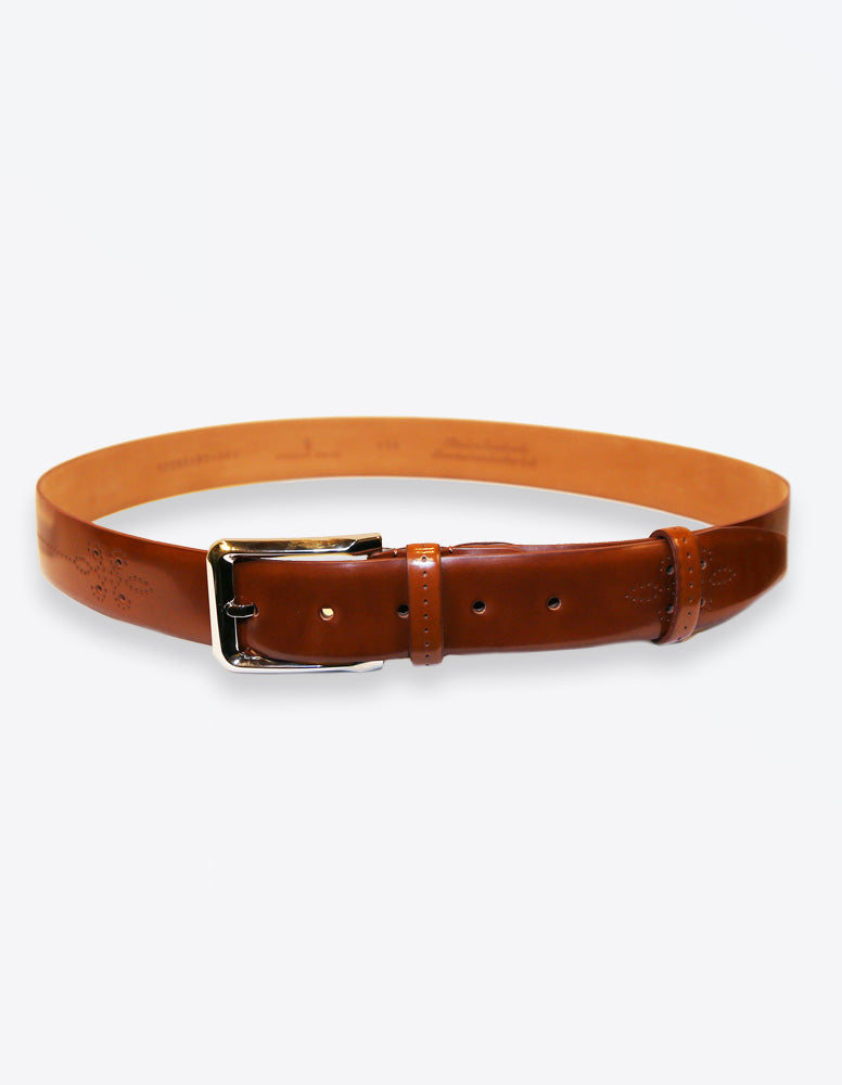 Tobacco Perforated Belt
