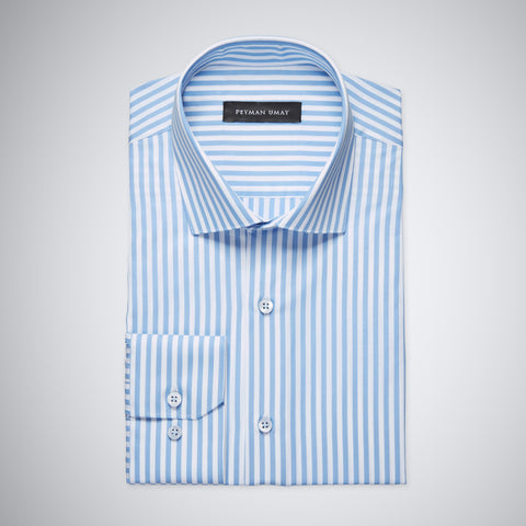 Blue King Striped Shirt