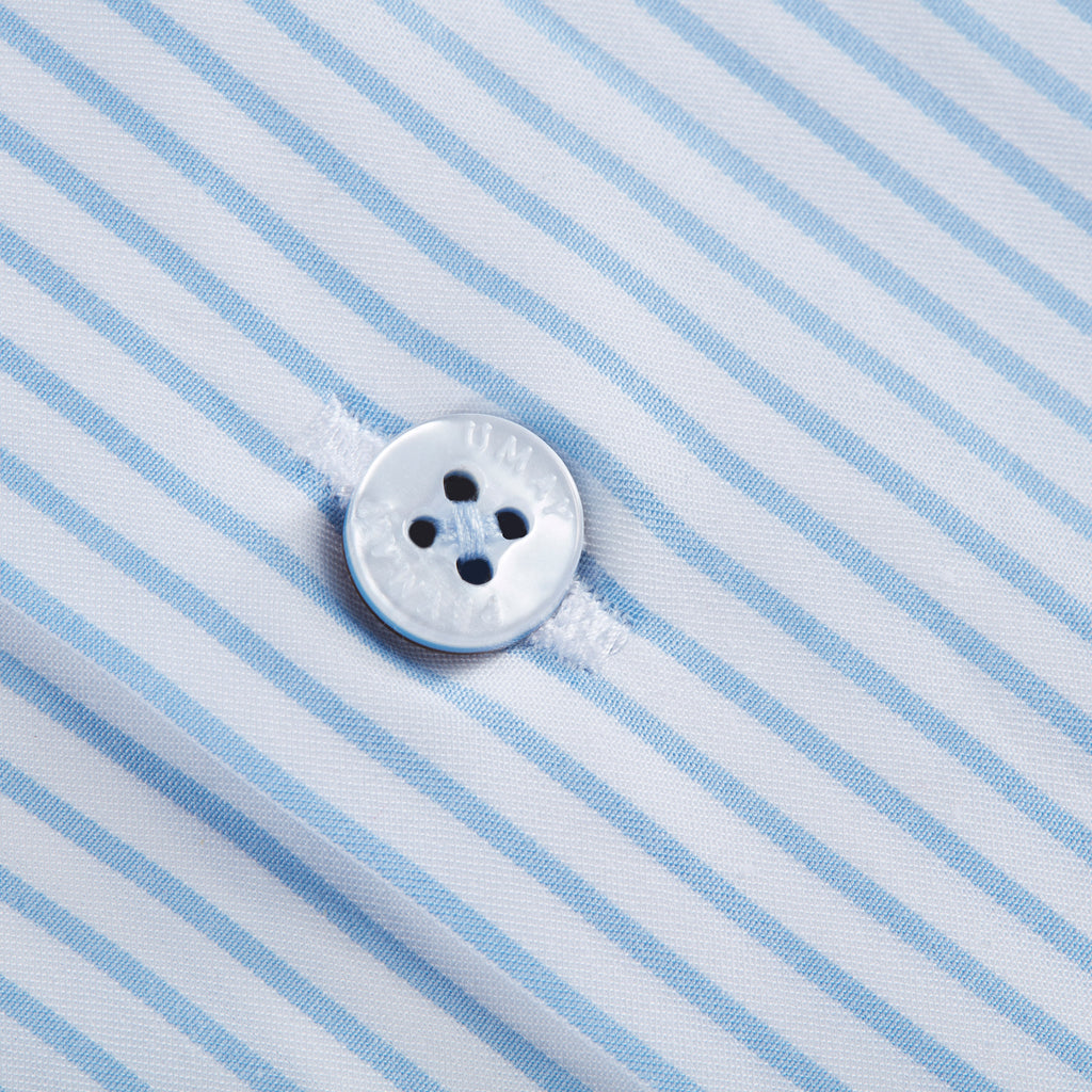 Light Blue Pin Striped Shirt