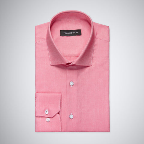 Dark Pink Oxford Shirt