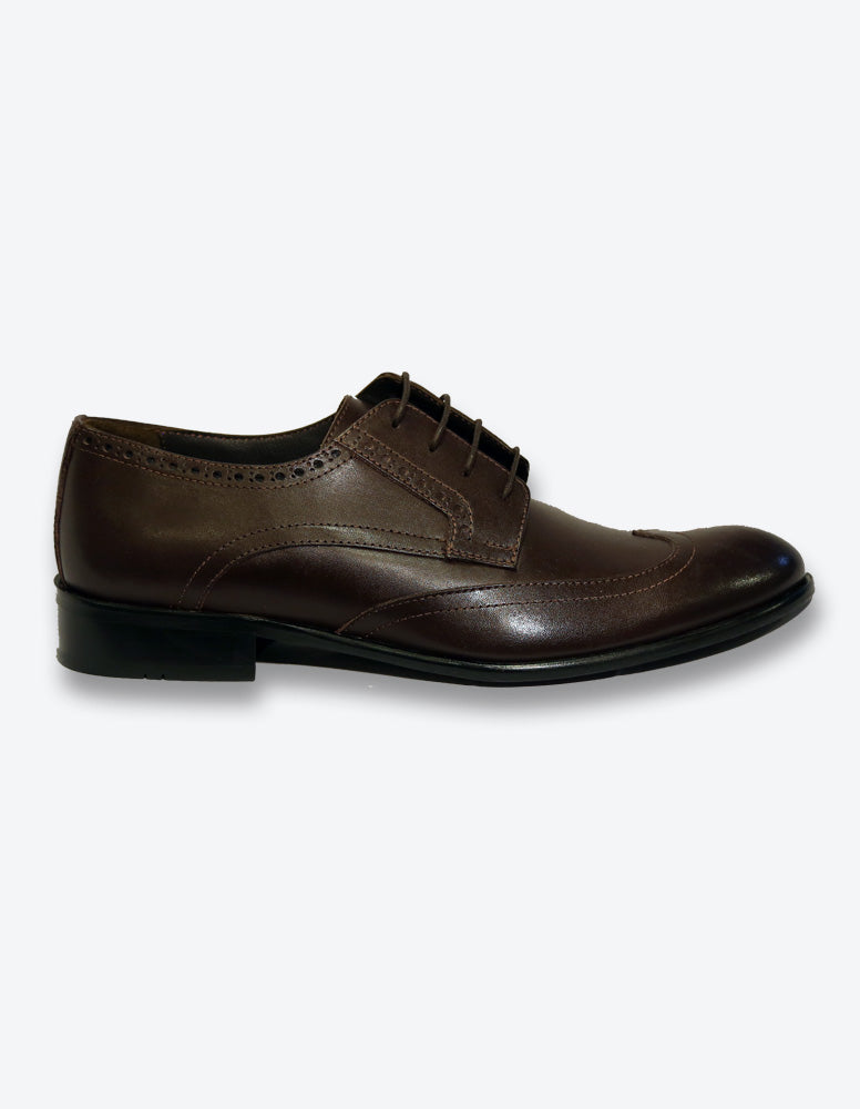 Chocolate Classic Oxford Lace-up Shoes
