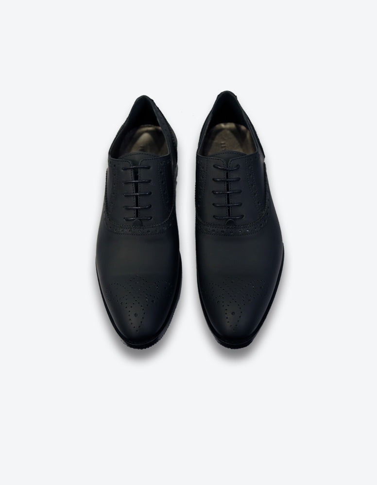 Matte Black Oxford Shoes