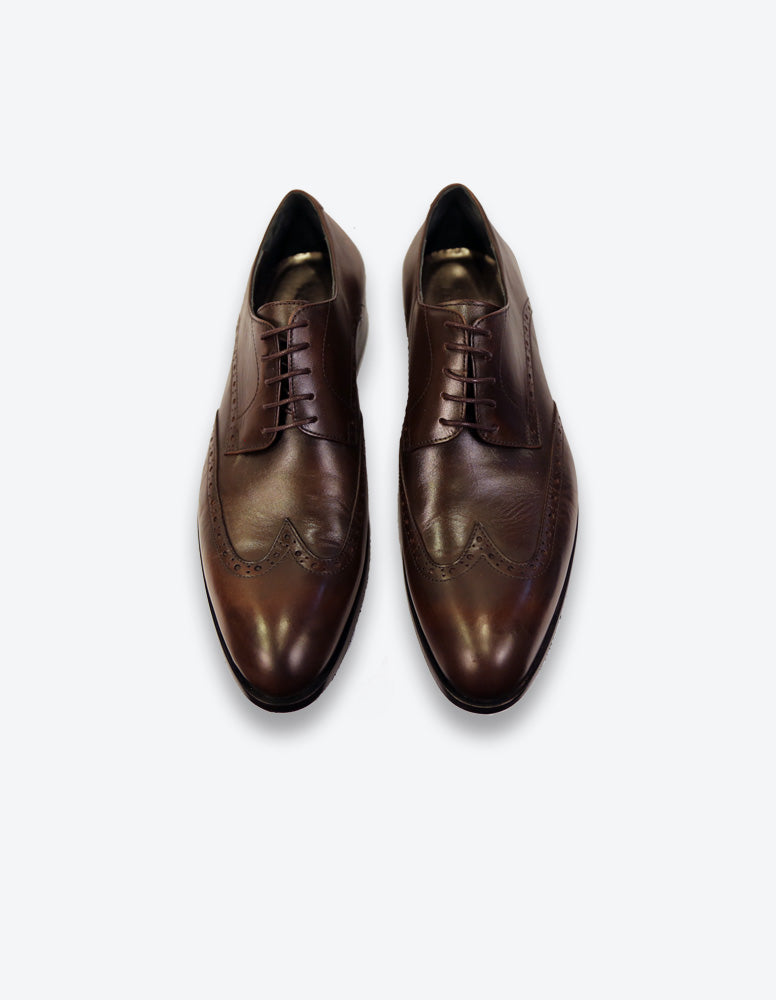 Chocolate Oxford Shoes