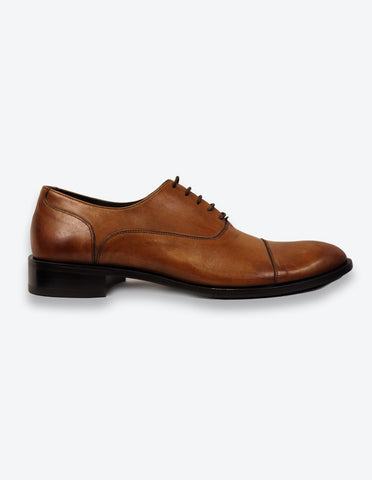Tobacco Balmoral Shoes