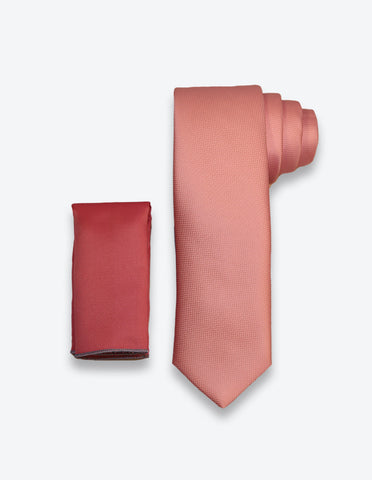 Light Pink Solid Tie