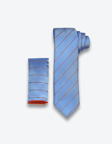 Blue/Red Striped Tie